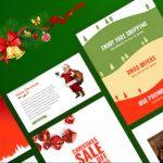 świąteczne banery reklamowe